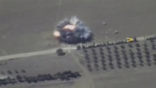 Orosz légicsapás végzett az Iszlám Állam hadügyminiszterével