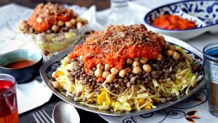 Így készül a legendás egyiptomi étel, a kosari