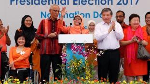 Nő és muszlim Szingapúr új államfője