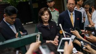 Észak-Korea sztárdiplomatája Moszkvában tárgyalt