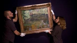 Eladó Churchill utolsó festménye