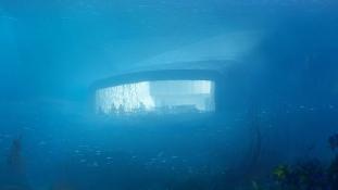 Norvégiában nyílik meg Európa első víz alatti étterme