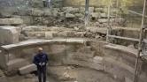 1700 éves római színházra bukkantak a Siratófal mellett