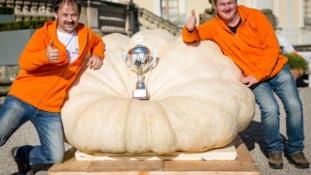 Közel 800 kilós sütőtök nyert Németországban