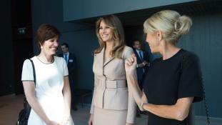 Melania Trumpnak hasonmása van?