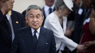 Japán császára 2019. március 31-én mond le