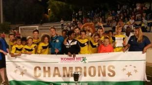 A magyar focistáké lett a kupa Spanyolországban