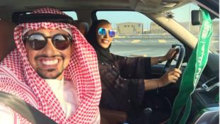 Így tanulnak a nők vezetni Szaúd-Arábiában