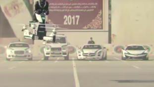 Repülő elektromos motor rendőröknek Dubajban – videó