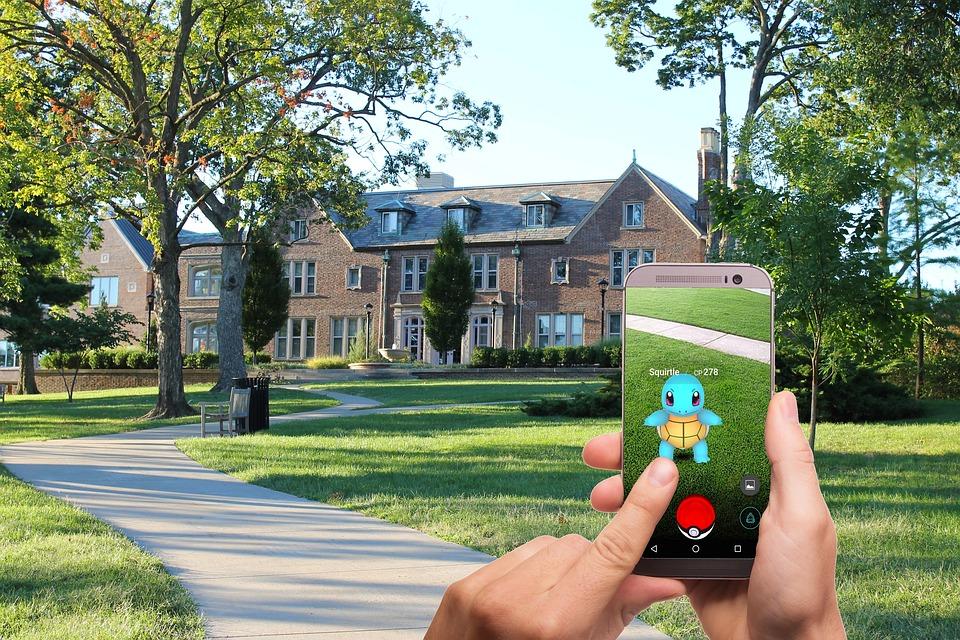 Trees Street Pokemon Game House Pokemon Go Lawn