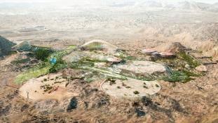 Ománban épül a világ legnagyobb botanikuskertje