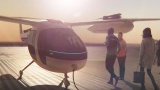 Az Uber és a NASA közösen fejleszti a jövő légitaxiját
