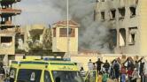 Mészárlás egy egyiptomi mecsetben – több mint 235 halott