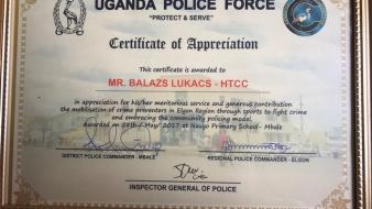 Miért hálás Ugandában a rendőrség a Magyar Kereskedelmi és Kulturális Központnak?