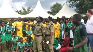 Bűnmegelőzési labdarúgó kupa Ugandában, magyar támogatással