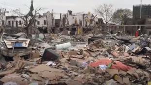 Hatalmas robbanás a kínai Volvo-városban – legkevesebb két halott és harminc sebesült / videó