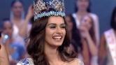 Így örült sikerének az indiai Miss World – videó