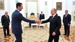Putyinnál járt Aszad