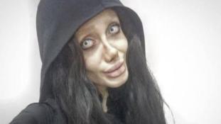 Angelina Jolie-ra akart hasonlítani, de nagyon elszúrta az iráni lány