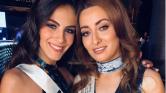 Világbéke – közös szelfin Miss Irak és Miss Izrael