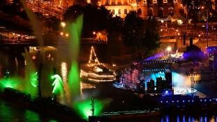 Oscart nyert a budapesti vizes világbajnokság nyitóünnepsége