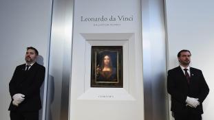 Rekord – 450 millió dollárért kelt el Leonardo da Vinci mesterműve New Yorkban