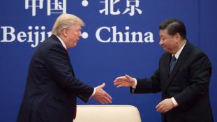Trump óriási üzleteket kötött Pekingben
