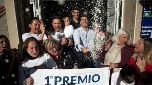 10 millió eurót nyertek egy idősotthon dolgozói a spanyol karácsonyi lottón