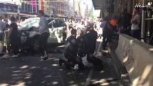 Melbourne: autó hajtott a villamosmegállóban várakozók közé – legkevesebb 13 sebesült