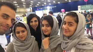Afgán lányok nyertek robotépítő versenyt Észtországban