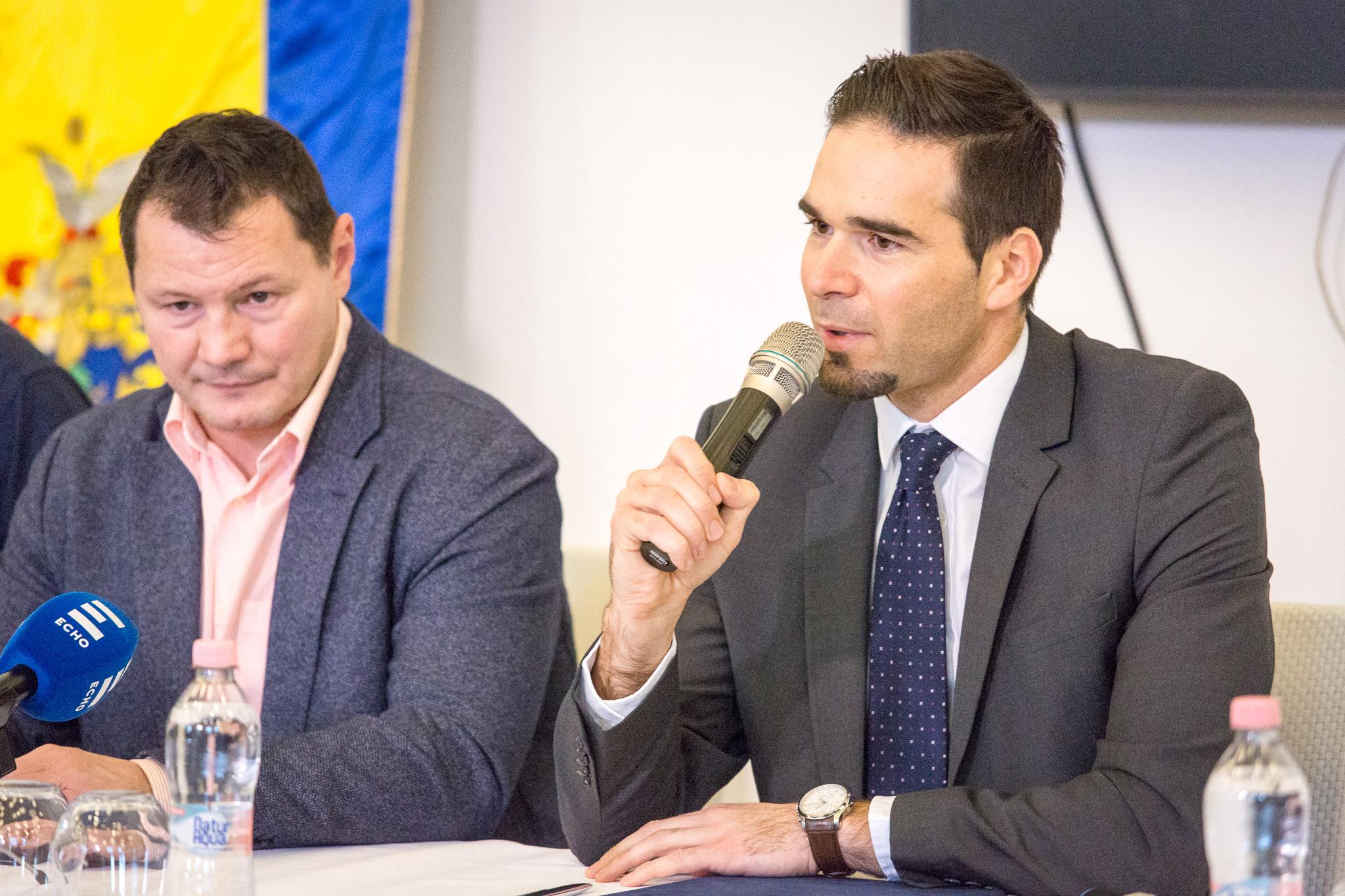 Erdei Zsolt és dr. Barcsa Lajos