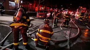 Tűz New Yorkban – a legdurvább negyed század óta / videó