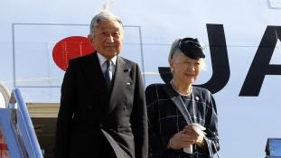 Japán császára 2019. április 30-án adja át a trónt fiának