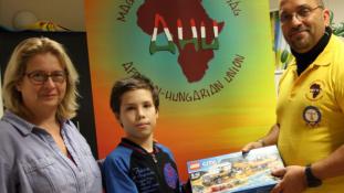 AHU Mentőszolgálat Karácsony – adomány átadás