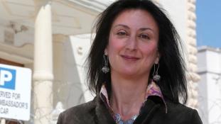 Nyolc embert letartóztattak Máltán az oknyomozó újságírónő meggyilkolása kapcsán