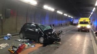 Halálos baleset – zárva Európa leghosszabb alagútja