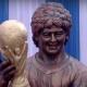 Négyméteres Maradona-szobrot avattak Kalkuttában – videó