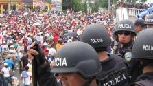 Honduras a polgárháború szélén – videó