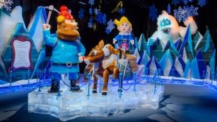 Disneyland rengeteg jégből – videó