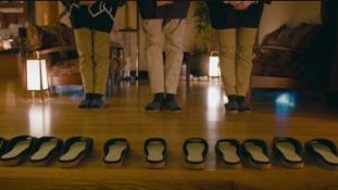 Önjáró papucsokat tervezett a Nissan egy tradicionális japán vendégház számára