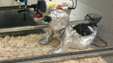 A robotbébi épp úgy lélegzik mint az igazi – videó