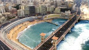 Alexandriát elnyelheti a tenger