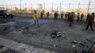 Kettős öngyilkos merénylet Bagdadban, sok halottal