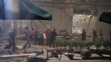 Katasztrófa a tőzsde épületében Dzsakartában, több tucat sérült – videó