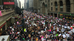 Nők Trump ellen – tömegtüntetések Amerikában