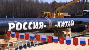 Új olajvezeték: Oroszország megduplázza az exportját Kínába