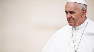 Ferenc pápa: a fake news a gonosz műve