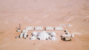 Ománban készülnek a Marsra az asztronauták