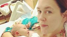 Élő adásban szülte meg a kisbabáját egy műsorvezető Amerikában
