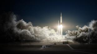 Így lőtték ki a világ legnagyobb rakétáját – videó
